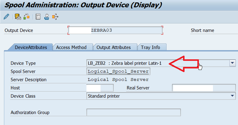 LZPL driver Error-Device Attributes