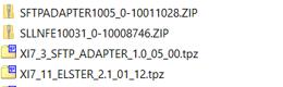 Import ESR Content in SAP PO unpack