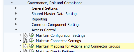 Maintain mapping of LDAP attributes