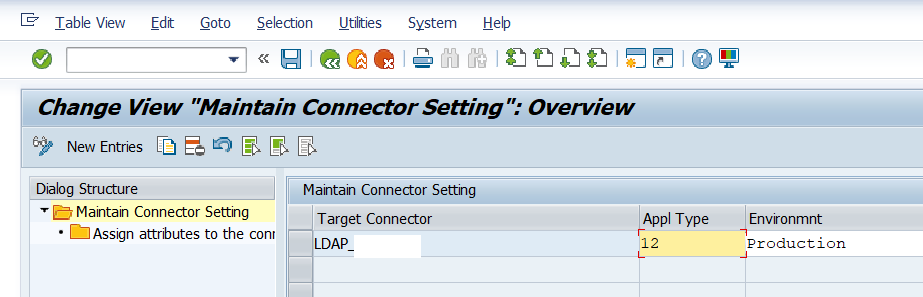 Maintain connector settings