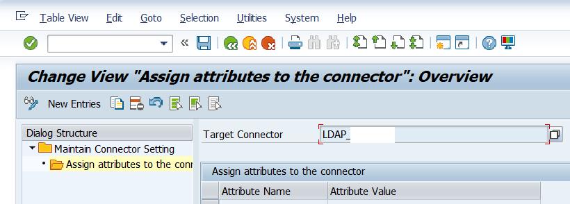 LDAP Assign attributes
