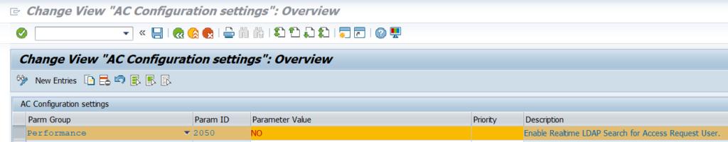 Keep LDAP search parameter =YES.